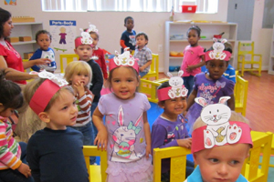 Montessori works for toddlers