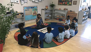 toddlers classroom